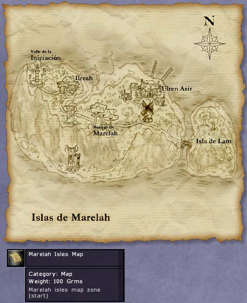 AnfangsInsel Karte